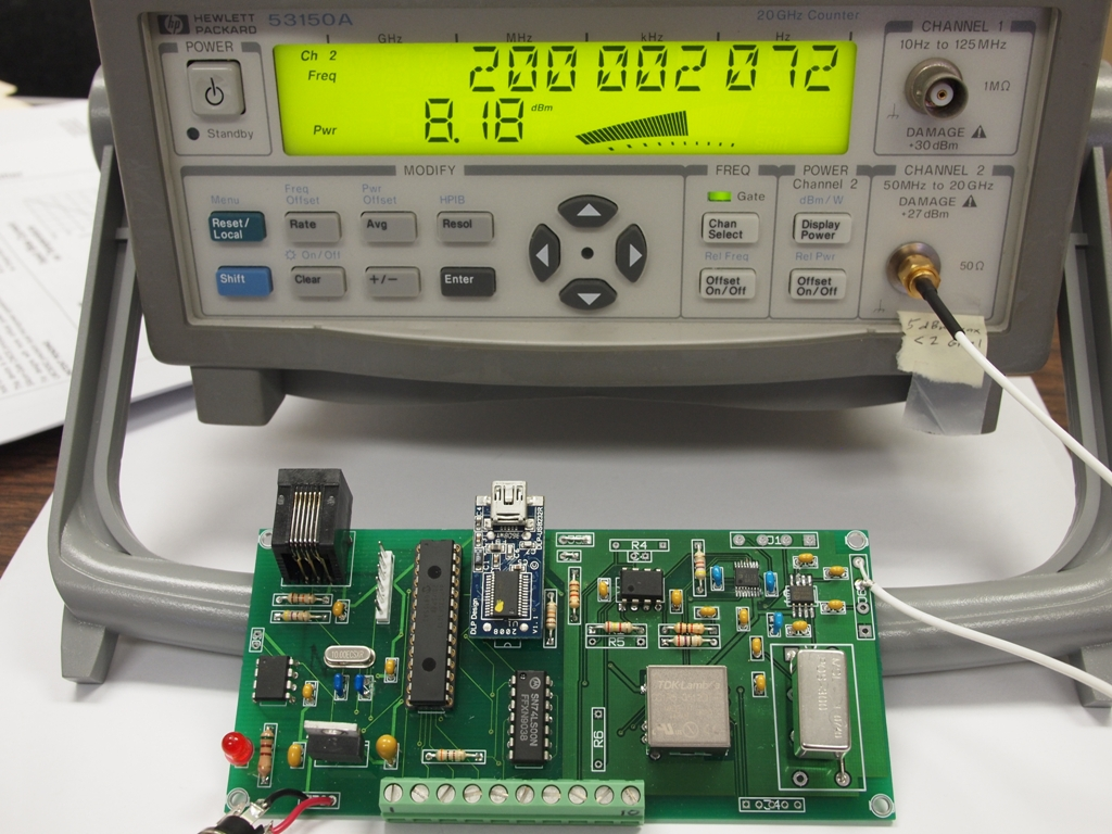 Gerber Files For The Usb32 Pcb Mount Printed Circuit Boards In Addition To Performing Mounting 1 And Frequency Counter At F200 Mhz