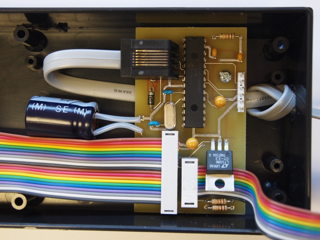 Gerber Files For Printed Circuit Card Microcontroller Programmer Get Domain Pictures Photo Of Internal Pcb And Cables